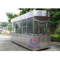 China 20 Year Lifetime Outdoor Ticket Booth /  Portable Guard Shacks Multi Color Available wholesale