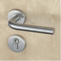 China Silver SUS304 Stainless Steel Escutcheon Lock Fire Proof For Residential wholesale
