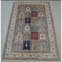 China Handmade Artificial Silk Carpet on sale