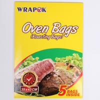China Clear Plastic Bread Cooking Turkey Oven Bag Eco Friendly Heat Resistant wholesale