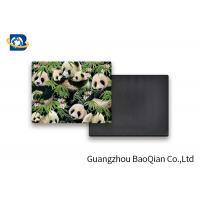 China Lovely Panda Photo Lenticular Magnet Souvenir Customized Size SGS Certificated wholesale