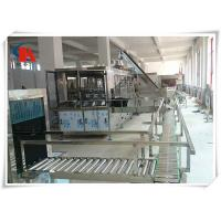 China Touch Screen Complete Bottled Water Production Lines 50 - 180 PCS/H With Water Treatment wholesale