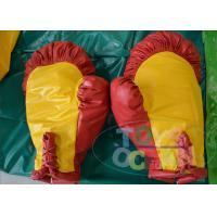 China Giant Inflatable Boxing Gloves For Boxing Ring Game PVC With Foam Inside wholesale