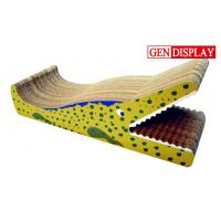 China Chair Cardboard Cat Scratcher , Corrugated Cardboard Cat Scratchers wholesale