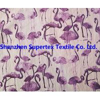 China 220T 140GSM Nylon Stretch Poplin Fabric With Print + W/R Outdoor Beachwear wholesale