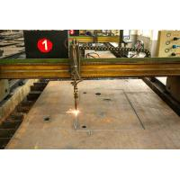 China Embedded Punching Laser Cutting Steel Plate For Building Material SGS Approval wholesale