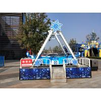 China Strength Amusement Park Pirate Ship Roller Coaster 5×7 M Area Required wholesale