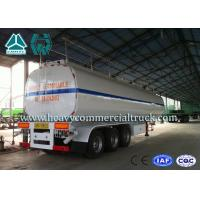 China 54 m3 High Performance road tank semi trailer  For Oil Carrying 55 Tons - 75 Tons wholesale