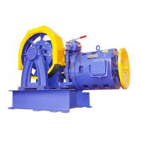 China Loading 1000~2000kg Geared Traction Machine for Passenger Elevator wholesale