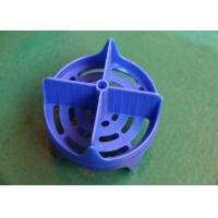 China Blue Plastic Injection Molded Parts Design ABS High speed Multi cavity wholesale