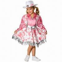 China Fancy Dress, Made of 100% Polyester, Available in Various Colors wholesale