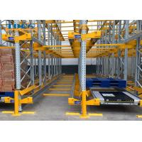 China Semi Automatic Pallet Shuttle System Industrial Warehouse Storage Racking wholesale