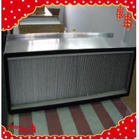 China 1220x610x220mm glass fiber paint separator pleated air purifiers /air filter wholesale