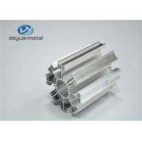 China Silver Heat Sink Alloy 6463 Industrial Aluminium Profile Polished Surface wholesale