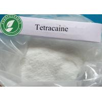 China Pharmaceutical Medical Anesthetic Raw Powder Tetracaine For Pain Killer wholesale