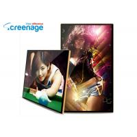 China Indoor 43 Inch Wall Mounted Digital Signage LCD 1080P High Resolution for Advertising wholesale