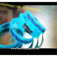 China bangles Technique and Europe Regional Feature cheap plain silicone wristbands wholesale