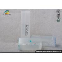 China Stylishly Clear Plastic Folding Boxes , Disposable Plastic Retail Boxes ISO9001 wholesale