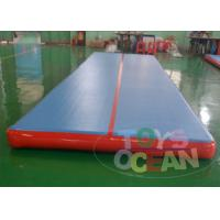 Quality 7 X 2 X 0.2m Inflatable Gymnastics Air Track Inflatable Floor For Sport for sale