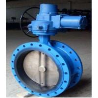 Quality Electric Flanged Butterfly Valves DN450 With Motor 230V 50Hz for sale