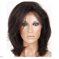 China Colored 100% Remy Lace Front Wigs Human Hair 12 Inch - 28 Inch Length wholesale