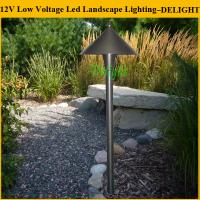 Low Voltage Landscape Lighting Copper : Outdoor led light garden landscape low voltage