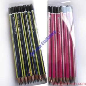 China Professional Manufacture Cheap Environmental Cheap Promotional Strip Hb Pencil wholesale