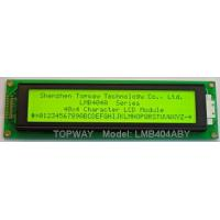 Buy cheap 40*4 Character LCD display from wholesalers