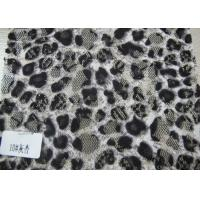 China Ladies Garment Nylon Cotton Lace Fabric , Custom Digital Textile Printing Fabric wholesale