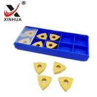 Quality WNMG080408- PM Tungsten Carbide Turning Inserts CNC Lathe Machine External for sale