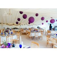 Luxury Wedding Tents Aluminum Profile Lining Deco Different Desk and Table for sale