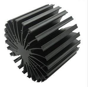 China 6063 - T5 Cooler / Radiator / Aluminum Heatsink Extrusions High performance wholesale
