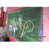 China Seamless Mesh PVC Banner , Outdoor Vinyl Mesh Fabric Advertising Banners wholesale