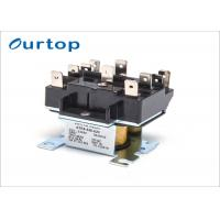 China Air Conditioner Fan Relay Quick Connect , 2 Pole Relay Switch For Central Air Conditioner wholesale