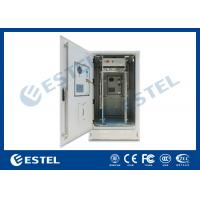 """China IP65 19"""" Heat Insulation Outdoor Telecom Cabinet With DC48V Cooling System For Base Station wholesale"""