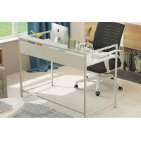 Buy cheap Simple Steel Wood Desktop Computer Desk For Household , Modern Office Table from wholesalers