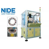 China BLDC Motor Coil Winding Machine / Fan Stator Winding Machine Servo System wholesale