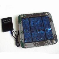 China 600D PVC Foldable Solar Panel Renewable Energy  / Foldable Solar Charger For IPhone wholesale