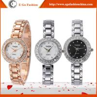 China YQ07 Rose Gold Silver Watch Stainless Steel Band Watches Girls Female Bracelet Watch Dress on sale