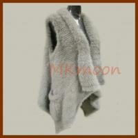 China Mink fur Vest, mink fur poncho -254# wholesale