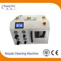China Big Capacity Nozzle Cleaning Machine , Smt Cleaning Equipment Using Liquid Purified Water wholesale