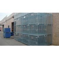 Wholesale Forklift Operation Collapsible Wire Containers Stacked Height Under 4 Meter from china suppliers