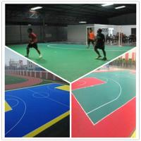 China 3W Indoor Futsal  Plastic PVC Interlocking flooring wholesale