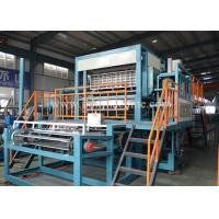 China Low Noise Pulp Egg Tray Making Machine , Paper Egg Tray Machine With Big Capacity wholesale