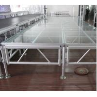 China 1.22m X 1.22m 18mm Acrylic Stage Platform  Anti-slip Borard wholesale