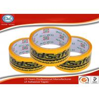 China Custom English Logo Printed Colored Adhesive Tape For Sealing and Packing wholesale