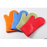 China silicone oven mitts/ oven glove OEM offer  material:cotton+silicone wholesale