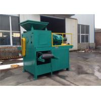 China Double Shaft Mixer Charcoal Briquette Making Machine , Briquette Extruder Machine wholesale