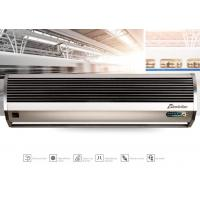 China Remote Controlling Aluminum Silver Compact Air Curtains For Door 9-11m/s wholesale