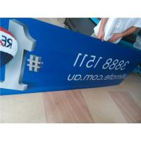 Quality Indoor Custom Sign Boards Shape Cutting For Informational Signage / Menu Boards for sale